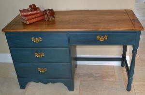 blue desk #6