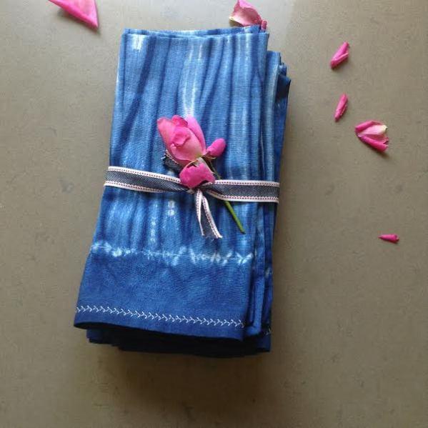 blue napkins #4