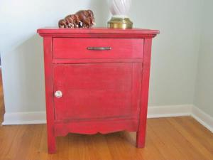 Red Washstand
