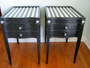 Hollywood Regency side tables Sold