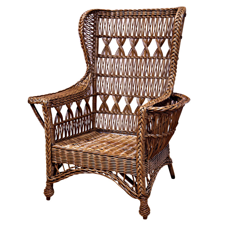 The largest producer of wicker furniture in the us was heywood