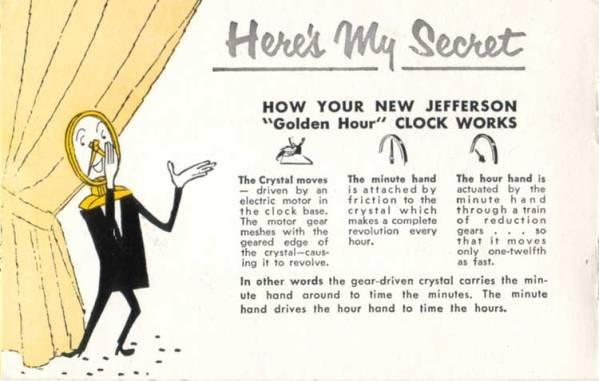catalogue for clock