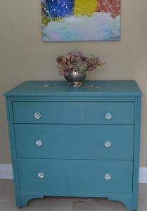 teal dresser #4