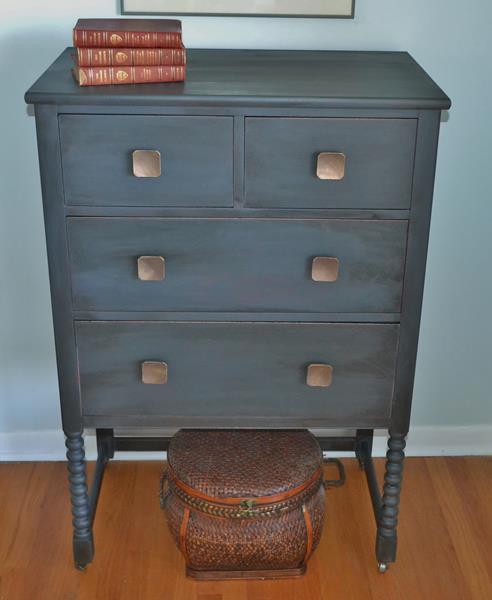 Captivating Graphite Dresser#1