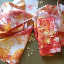 red ice napkins 6